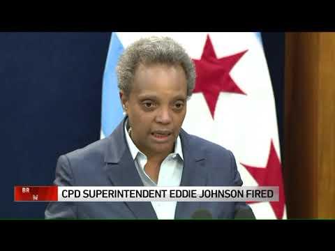 Chicago mayor fires top cop Eddie Johnson over IG investigation