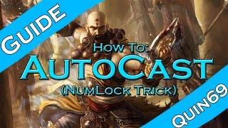 Diablo 3 RoS - How to Autocast Skills (num lock)