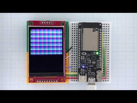 Arduino_GFX ESP32 ILI9341