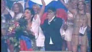 Dima Bilan - victory on Eurovision 2008, победа Димы