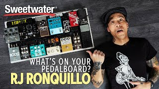 RJ Ronquillo's Pedalboard — What's on Your Pedalboard? 🎸