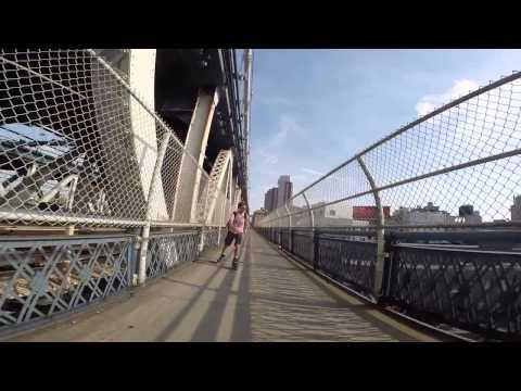 Прогулка через Манхеттенский мост 16.08.