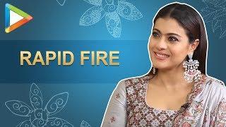 Viral Alert: Kajol's SUPER-DUPER rapid fire on SRK, Salman, Pee Cee   Helicopter Eela