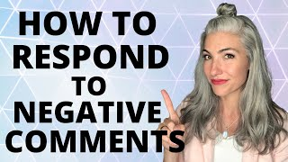 HOW TO RESPOND TO NEGATIVE COMMENTS ABOUT YOUR GREY HAIR   ERICA HENRY JOHNSTON