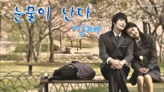 Shin Jae - Tears Are Falling [Eng Sub + Rom + Han]