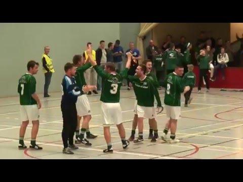Kwartfinale Protos Weering Zaalvoetbaltoernooi