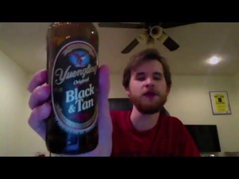 Pine Belt Beer Review - Yeungling Black & Tan
