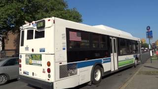 preview picture of video 'MTA New York City Bus: Orion 07.501 S93 & 07.501 OG CNG B70 @ 92nd Street & Fort Hamilton Parkway'