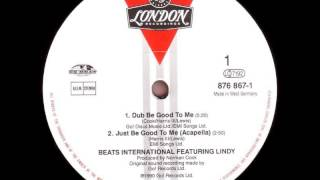 Beats International - Dub Be Good to Me* (12'' maxi)