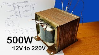 Download Video How to calculating turns and voltage of transformers for inverter 12V to 220V 500W (part 1) MP3 3GP MP4