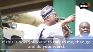 Must Watch: Oyo State Governor, Ajumobi Hassled By Students, Booed, Jeered and Humbled