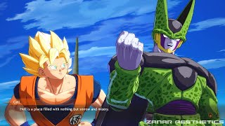 Dragon Ball FighterZ - Goku Asks Cell About Hell &