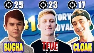 This Is What Happened When Bugha Trios Arena W/ Tfue + Cloak