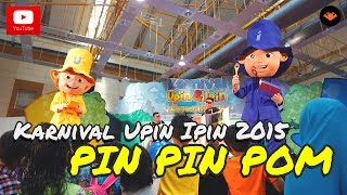 Seronoknya persembahan Upin Ipin ketika di Karnival Upin Ipin 2015 Tahun ni