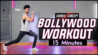 15 Minutes Bollywood Workout   For Beginners & Advance   Choreo N Concept
