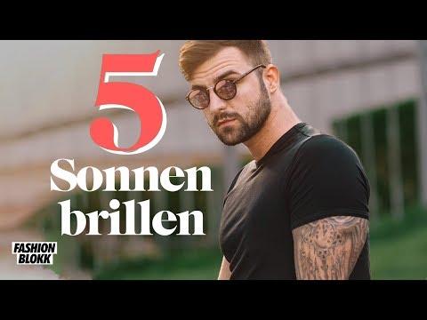 5 Sonnenbrillen für Männer günstig | Sonnenbrillen Trends 2019