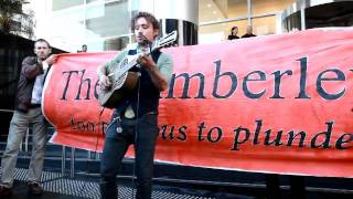 Revolution - John Butler at the Kimberley coast gas protest
