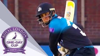 Worcestershire Grab Semi-Final Spot With Win Over Derbyshire - Royal London One-Day Cup