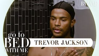 Grown-ish Star Trevor Jackson's Nighttime Skincare Routine   Go To Bed With Me   Harper's BAZAAR