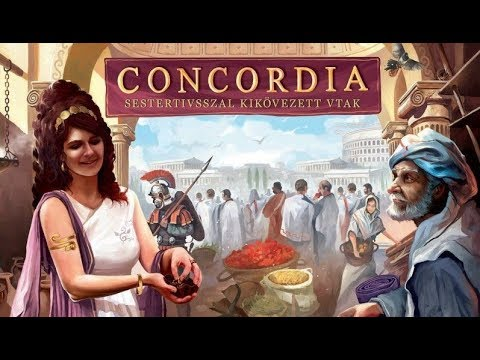 Concordia Gameplay Basics and Review