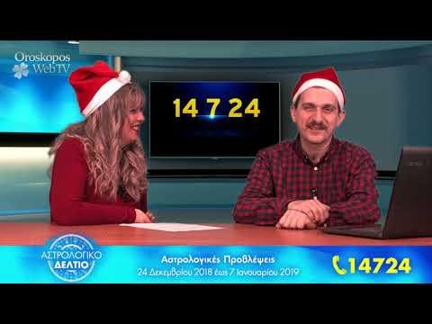 Αστρολογικό Δελτίο: 24 Δεκεμβρίου έως 7 Ιανουαρίου