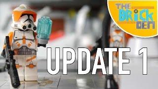 LEGO Utapau MOC- Update 1
