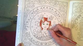 Johanna Basford Ivy And The Inky Butterfly Tutorial