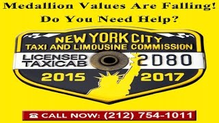 NYC Taxi Medallion's Falling Values   Legal Remedies   Expert Legal Counsel   Save Time & Money