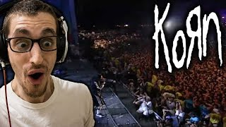 """Hip Hop Head's FIRST TIME Hearing """"Blind"""" By KORN (Woodstock '99)"""