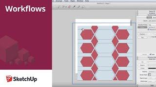 SketchUp Skill Builder: Creating LayOut Patterns