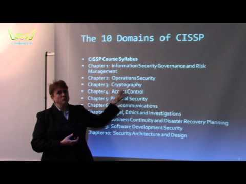 Preview the Free CISSP Online Training Class from Cybrary ...