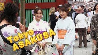外国人で溢れる浅草!浅草寺![1] 東京観光 Tokyo Sightseeing Asakusa Sensoji