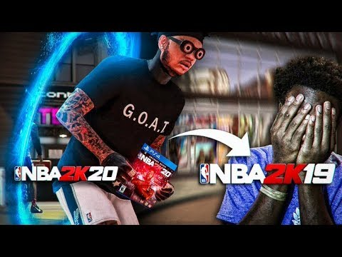 I WENT BACK TO NBA 2K19 and BOUGHT SOMEONE UNFORTUNATE NBA 2K20! (EMOTIONAL/CRYING REACTION)