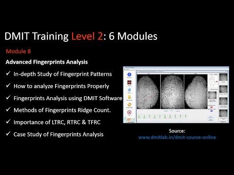 DMIT Training Online, Advanced DMIT Course, Fingerprint Analysis ...