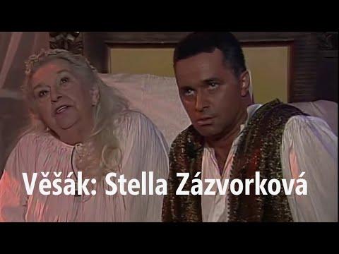 Věšák: Stella Zázvorková ● vyprávění a humorné odpovědi při setkání se Stellou Zázvorkovou (1999)