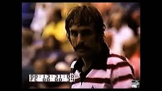 Las Vegas Challenge Match 1975 - Jimmy Connors Vs John Newcombe ( Fragment )