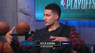 Area 21: Kyle Kuzma Recaps His Rookie Season