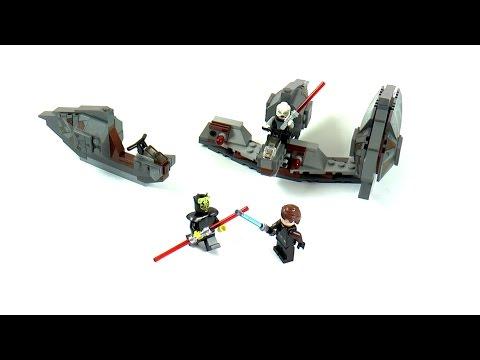 Vidéo LEGO Star Wars 7957 : Sith Nightspeeder