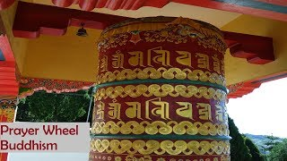 Buddhist Prayer Wheel in Tawang