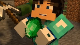 "♬ ""Emeralds"" - Minecraft Parody of ""Rude"" ♬"