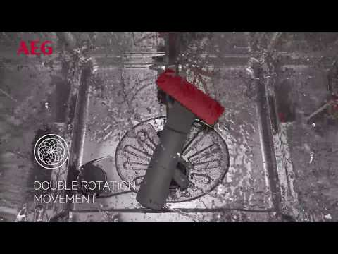 AEG Freestanding 60 Cm Dishwasher FFB53940ZM - Stainless Steel Video 1