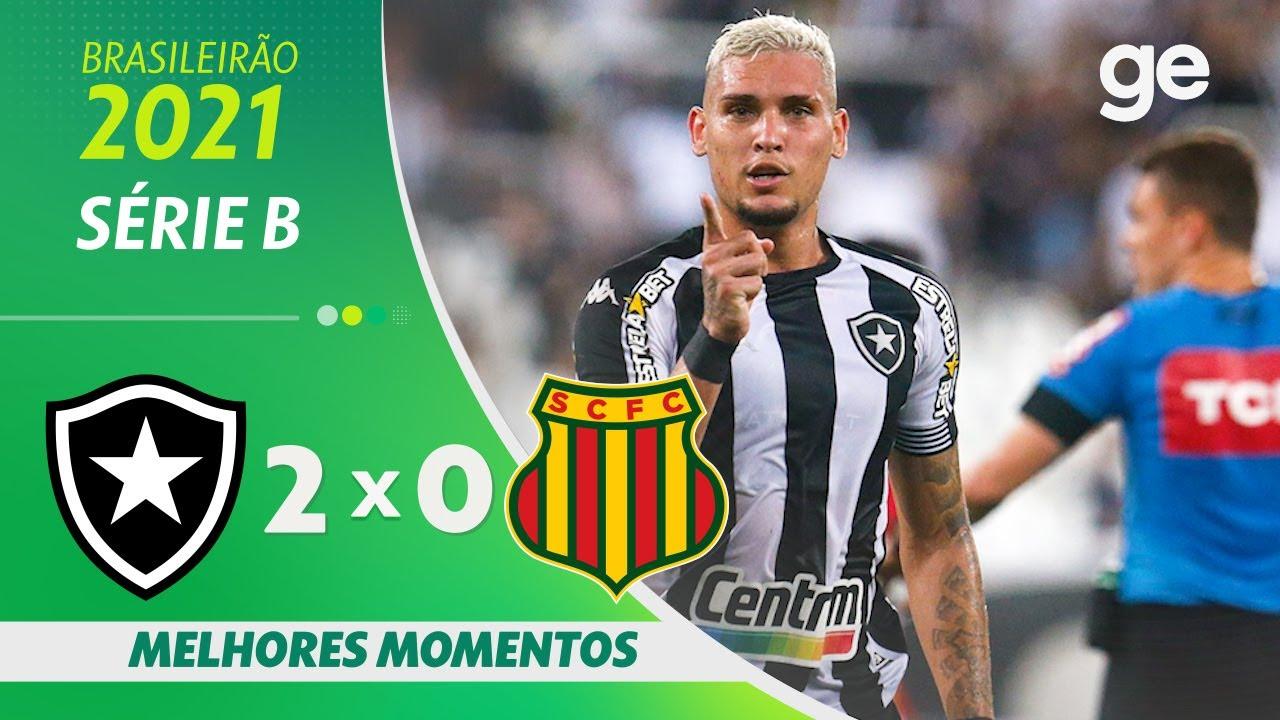 VÍDEO | Gols e melhores momentos da vitória do Botafogo sobre o Sampaio Corrêa