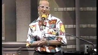Chris Elliott as Paul Shaffer on Letterman, March 25, 1987