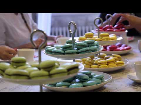 Video of French Pastry Classes in English
