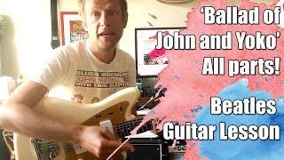 Ballad of John and Yoko Beatles Guitar Lesson #361