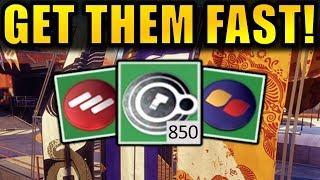 Destiny 2: GET FACTION TOKENS FAST! | Season 3 Faction Rally Farming Guide