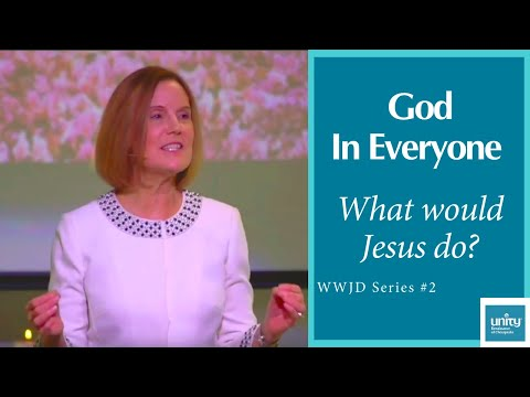 "Message: ""God in Everyone"" Rev. Paula Mekdeci, #2 of the WWJD series – February 16, 2020"