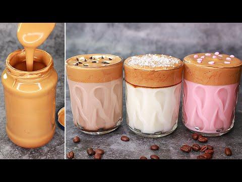 Dalgona Coffee | How To Make Dalgona Coffee | No Machine Dalgona Coffee | Without Mixer Dalgona