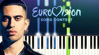 Mahmood   Soldi (Piano Tutorial)