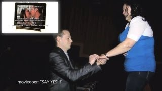 Best Marriage Proposal you will ever see in a Movie Trailer of Hurricane Sandy NY